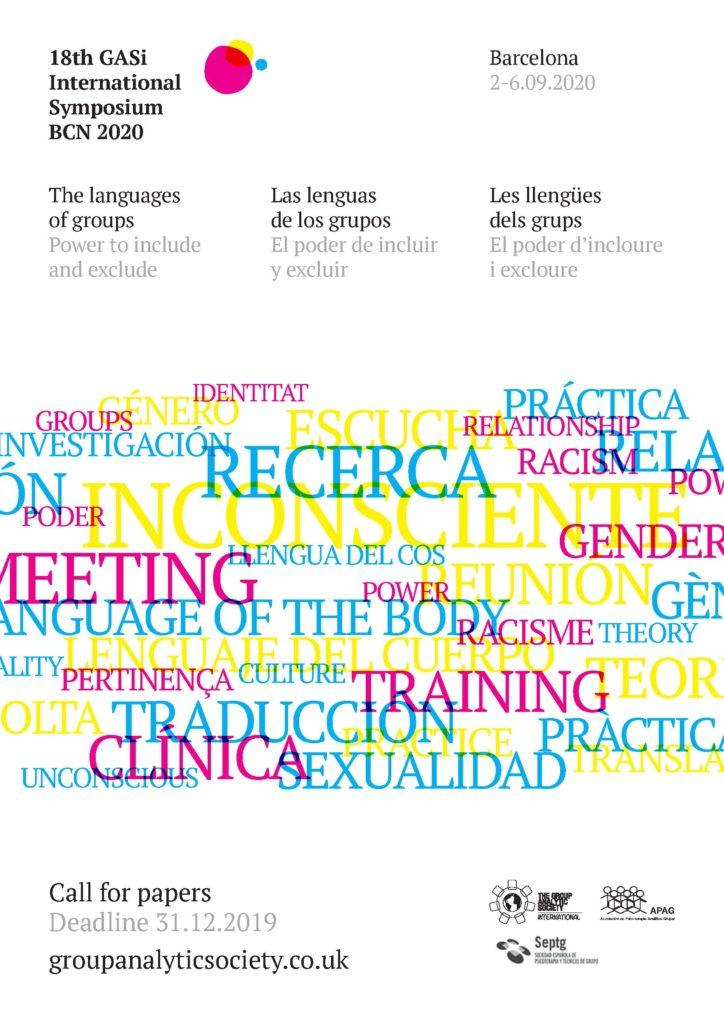18th International Symposium, Barcelona, 2nd-6th September